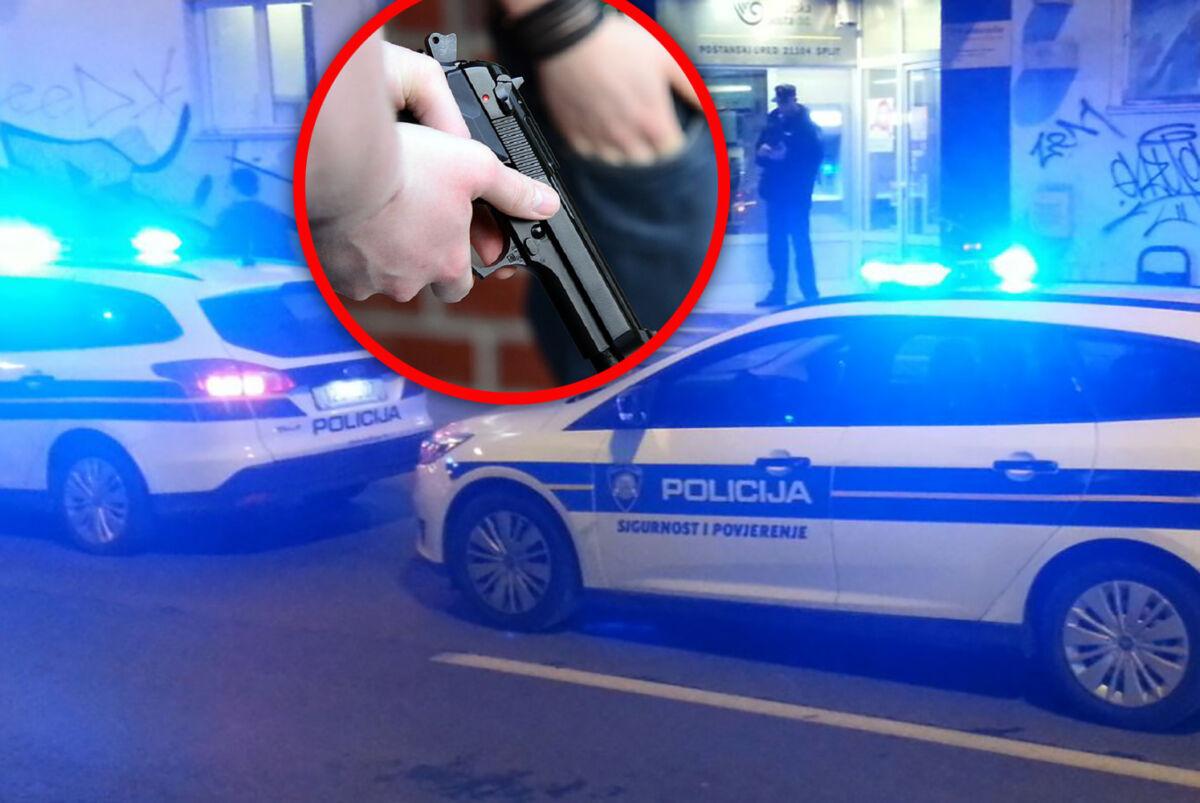 """RAZBOJNIŠTVO U SPLITU Policija uhvatila 49-godišnjaka: """"Prijetio je djelatnici pošte"""""""