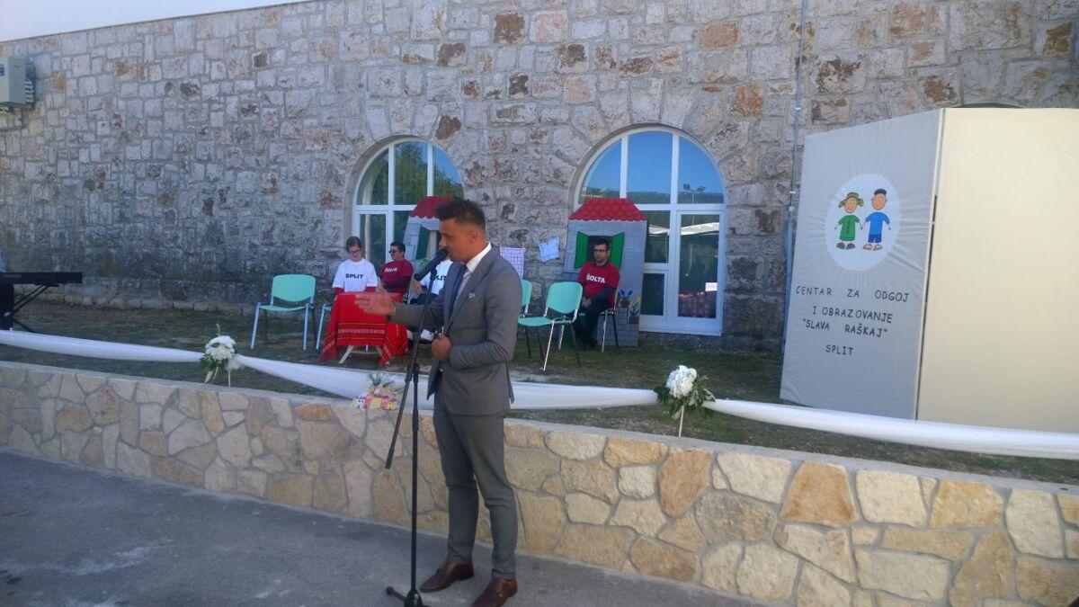 Otvoren Odjel Centra Slava Raskaj U Podbablju Djeca S Poteskocama