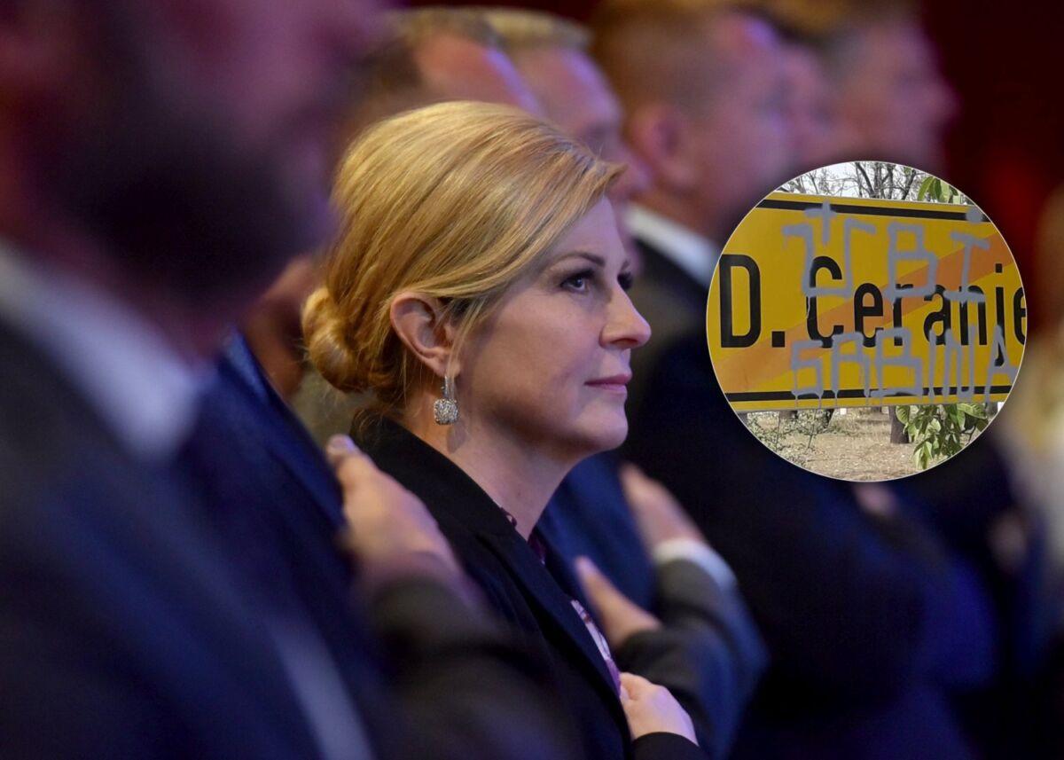Predsjednica traži da se utvrdi tko i zašto stoji iza prijetnji Miloradu Pupovcu
