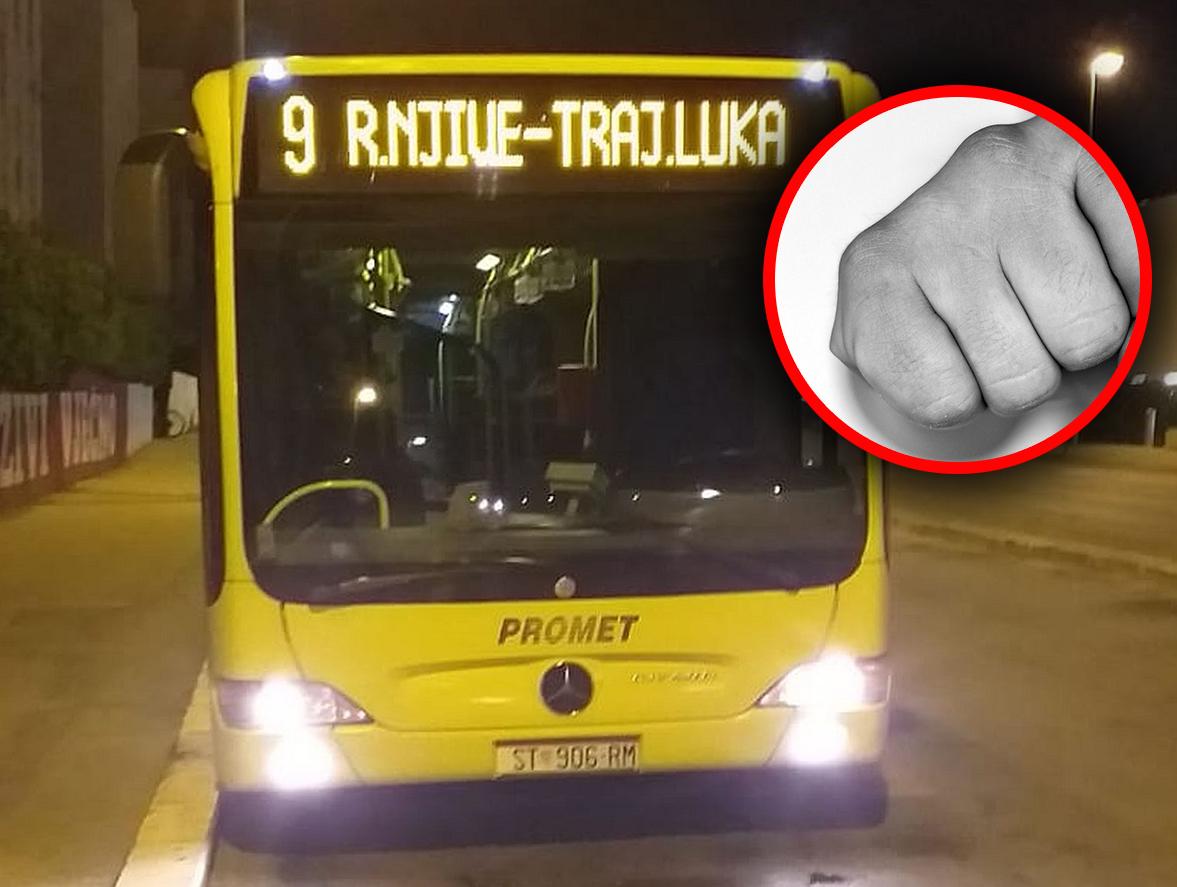 ŠTO SE DOGAĐA U SPLITU? Žena (53) dvaput šakom udarila vozača Prometovog autobusa u glavu!