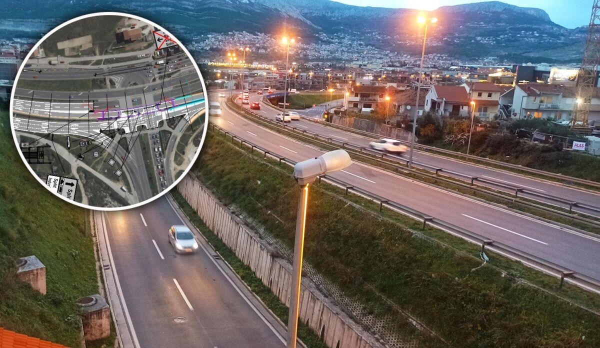 """ZBOGOM GUŽVAMA NA ULAZU U SPLIT """"Zapadna"""" rampa potpuno će rasteretiti prometni kolaps, evo svih detalja"""