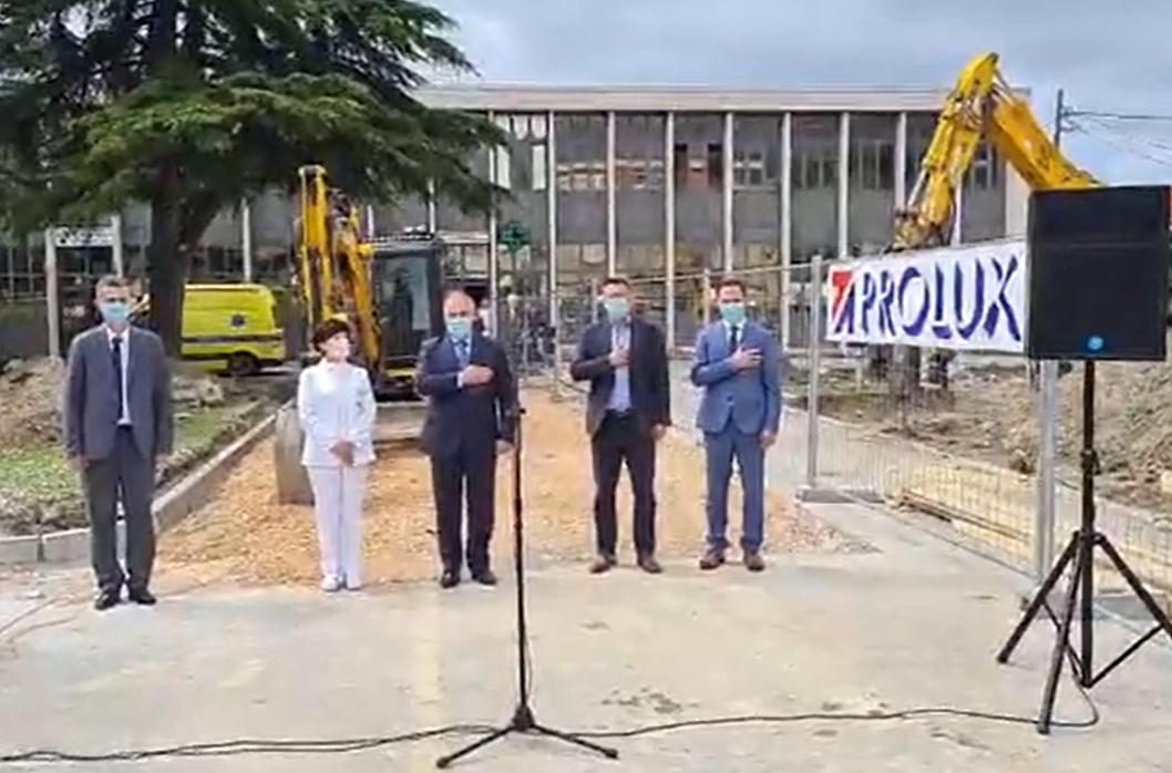 VELIKI DAN ZA SOLIN Otvoreni radovi izgradnje zdravstvenog objekta ordinacije Doma zdravlja SDŽ i jedinice Ljekarne SDŽ