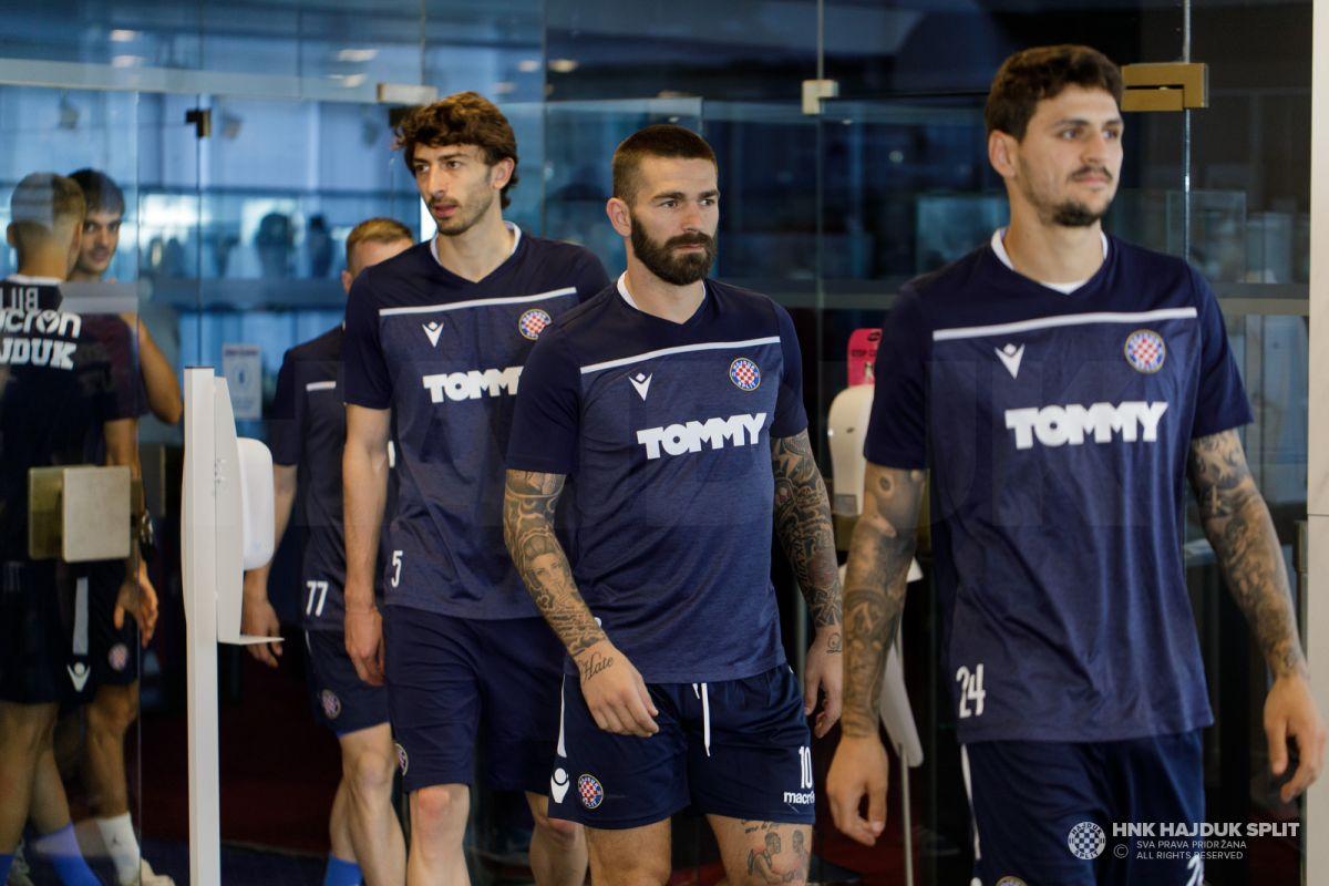 Trener Gustafsson okupio igrače, Hajduk započeo pripreme za novu sezonu