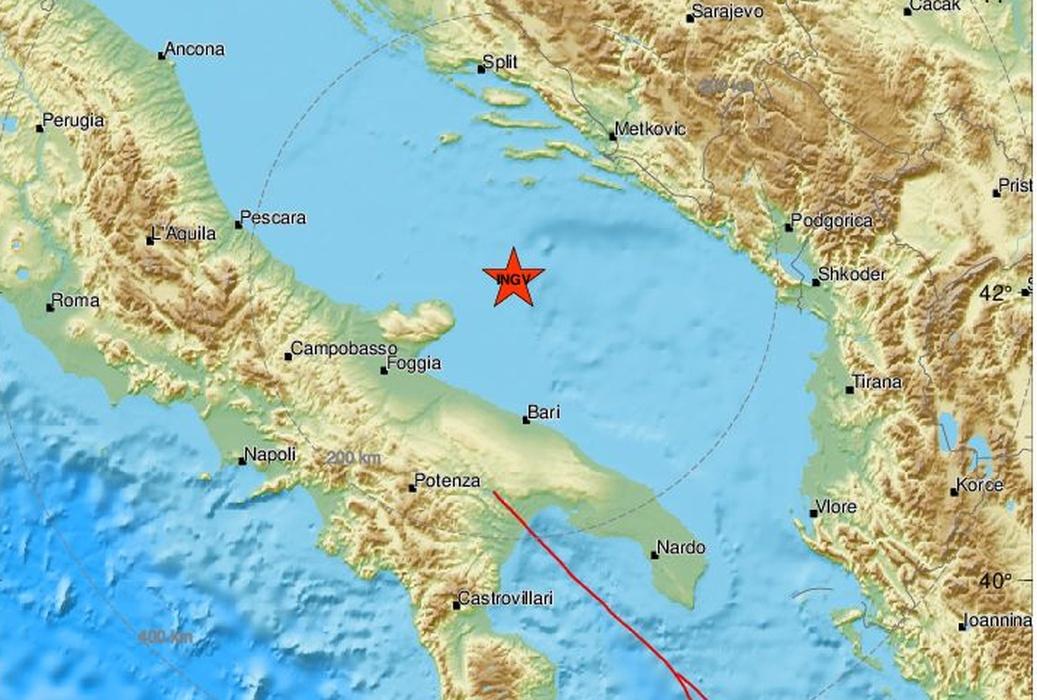 Novi potres u Jadranu: Ovoga puta nešto južnije u odnosu na epicentralno područje