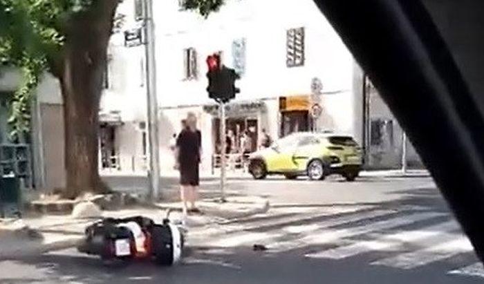 JOŠ JEDNA PROMETNA: Sudar auta i motora u Splitu