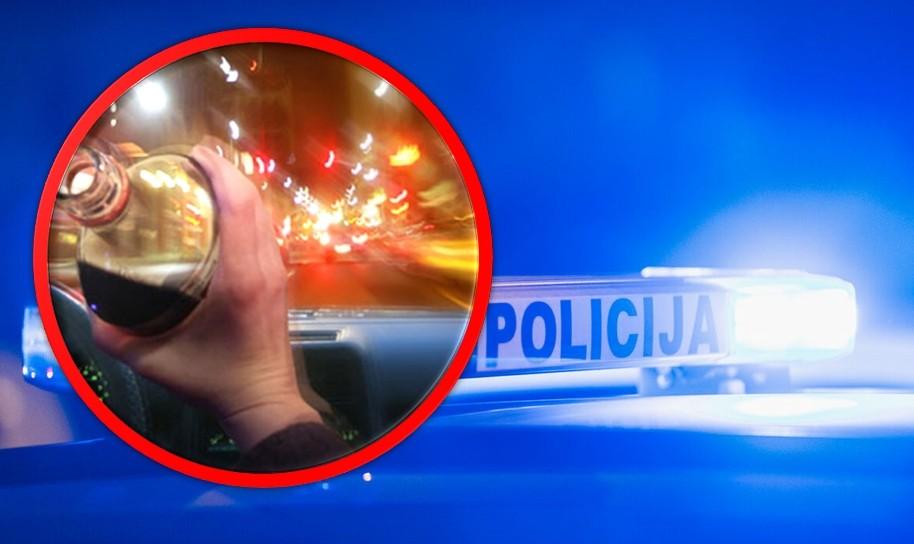 SKUPO GA KOŠTALA ČAŠICA VIŠE Pijani Dalmatinac uhvaćen za volanom, dobio je ogromnu novčanu kaznu