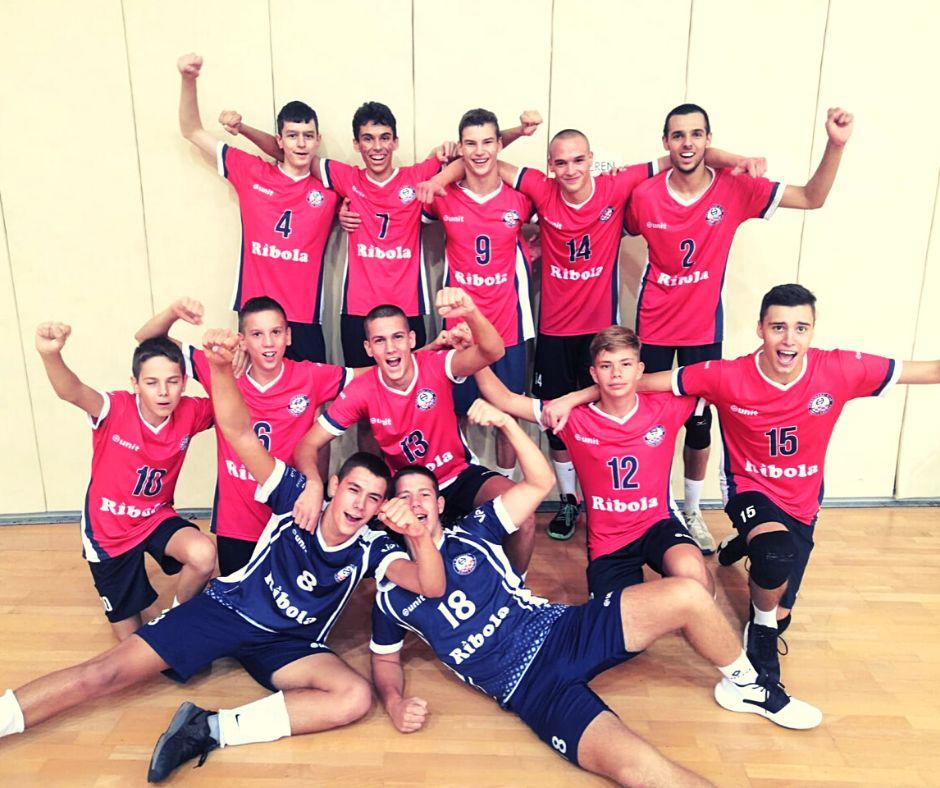 Kadeti OK Ribola Kaštela osvojili broncu na državnom prvenstvu