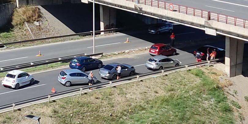 BUDITE OPREZNI! Nova nesreća na nadvožnjaku u Splitu, sudarila se čak tri vozila. Evo na što upozorava policija