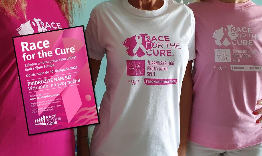 """ODAZOVITE SE I POKAŽI VELIKO SRCE! Race for the cure """"THINK PINK"""" ne posustaje ni ove godine, održat će na poseban način"""